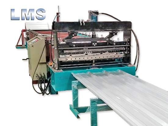 LMS Trapezoidal Pattern Roof Tile Roll Forming Machine