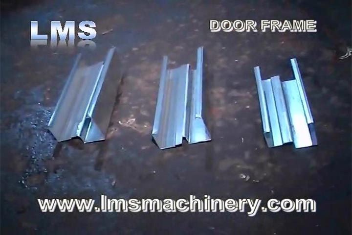 LMS DOOR FRAME ROLL FORMING-3 CUTTING