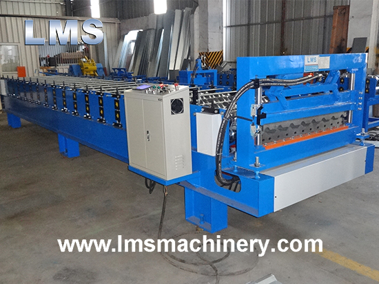 Metal Trapezoidal Roof Roll Forming Machine