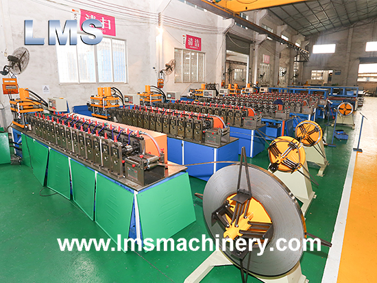 LMS Telescopic Channel Ball Bearing Drawer Slides Roll Forming Production Line