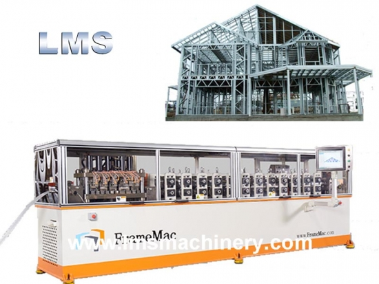 FrameMac Prefabricated Light Gauge Steel House Framing Machine