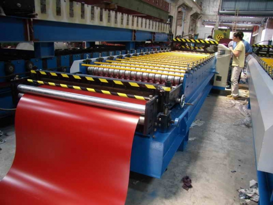 Roof Standing Seam Roll Forming Machine