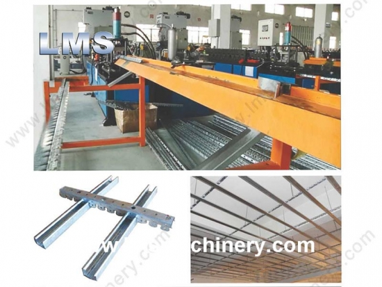 Ceiling Carrier Roll Forming Machine