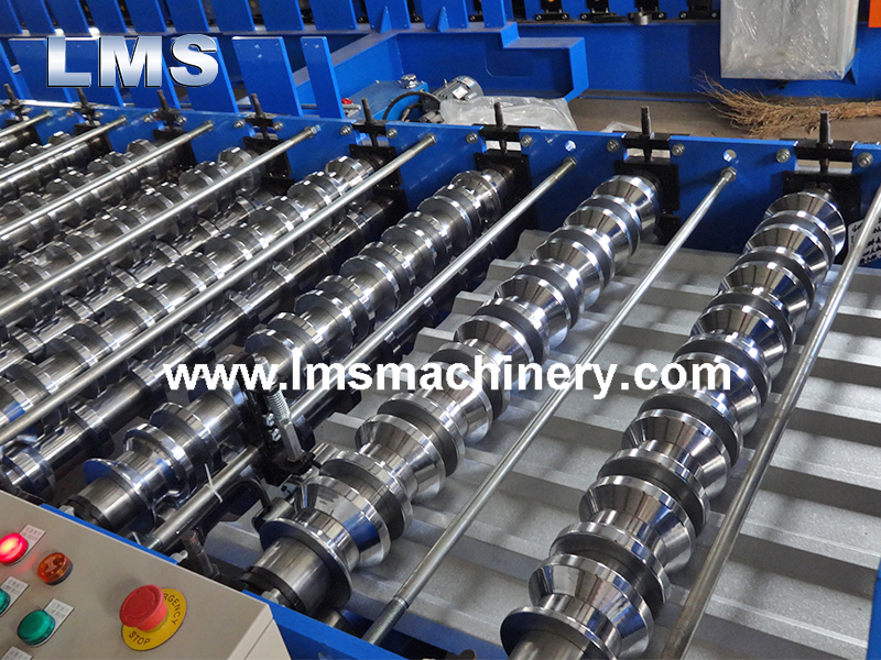 Trapezoidal Steel Roof Sheet Roller Machine