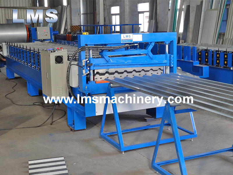 T Shape Roof Machine