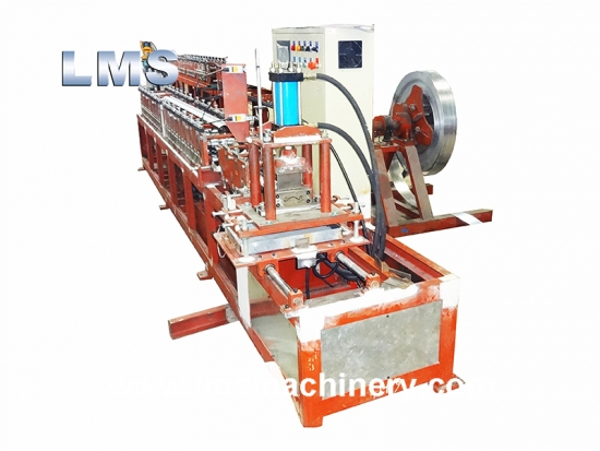 Door Shutter Roll Forming Machine With Punching