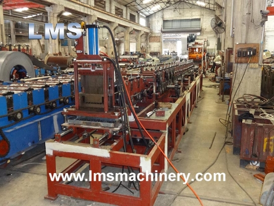 Rack Decking Roll Forming Machine
