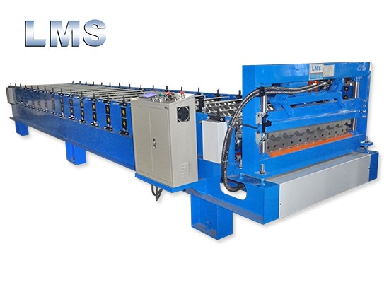 LMS Metal Trapezoidal Roof Roll Forming Machine