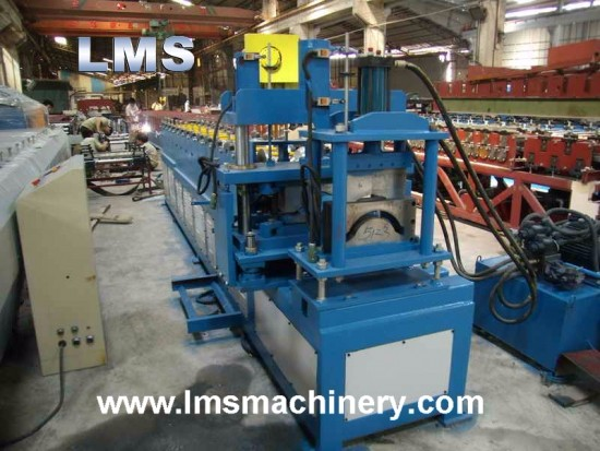 LMS Steel Ridge Cap Roof Roll Forming Machine