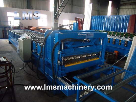 LMS Step Tile Roof Roll Forming Machine