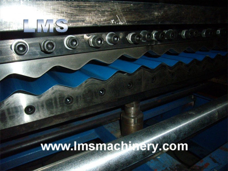LMS Metal Corrugated Roof Tile Roll Forming Machine