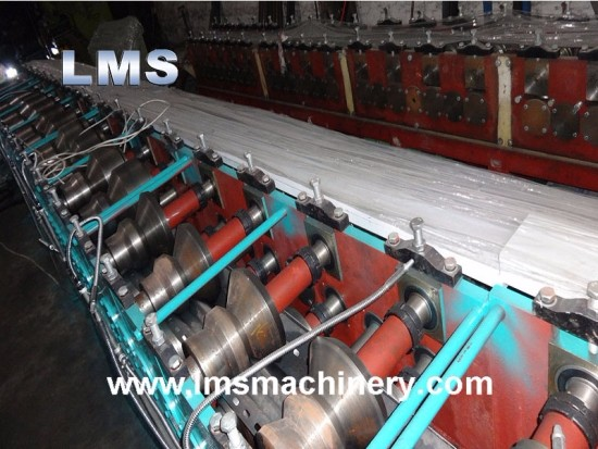 Door Frame Roll Forming Machine With Punching
