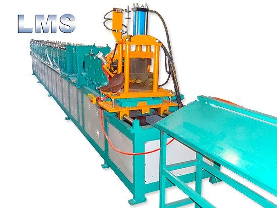 LMS Door Frame Roll Forming Machine With Punching