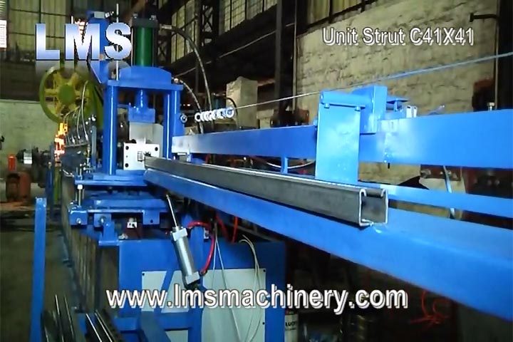 LMS UNIT STRUCT C41X41 ROLL FORMING PRODUCTION LINE