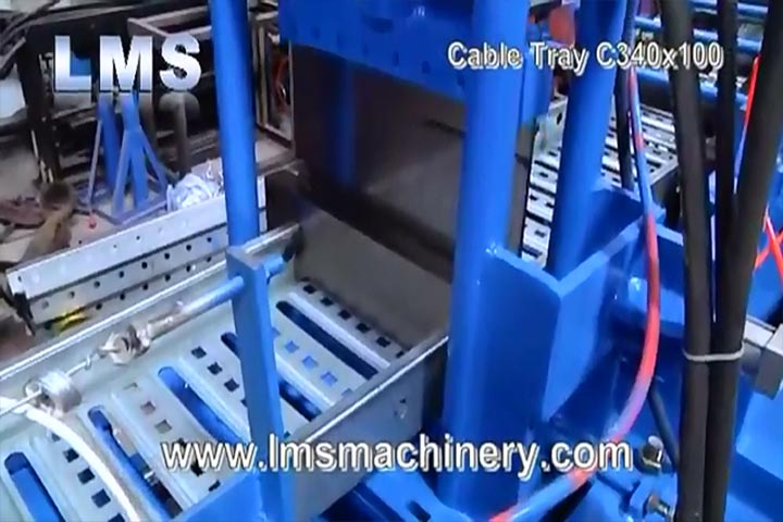 LMS Cable Tray C340X100 Roll Forming
