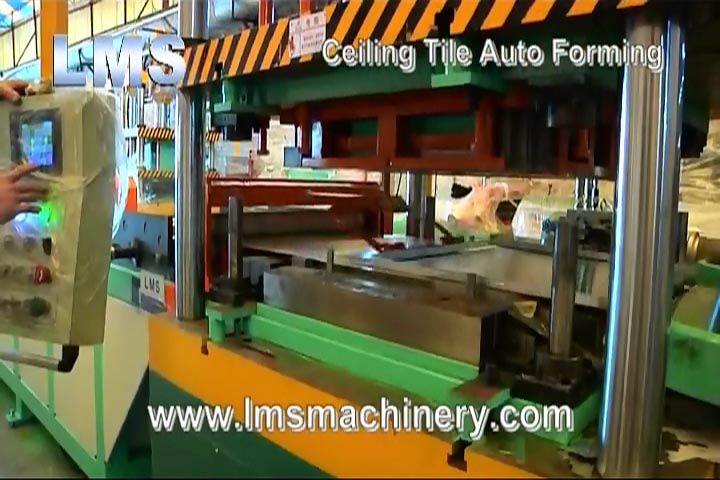 LMS Ceiling Tile Auto Forming Line