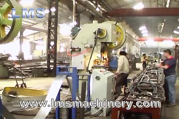 LMS Rolling Shutter System Roll Forming Production Line - Micro-perforation Line