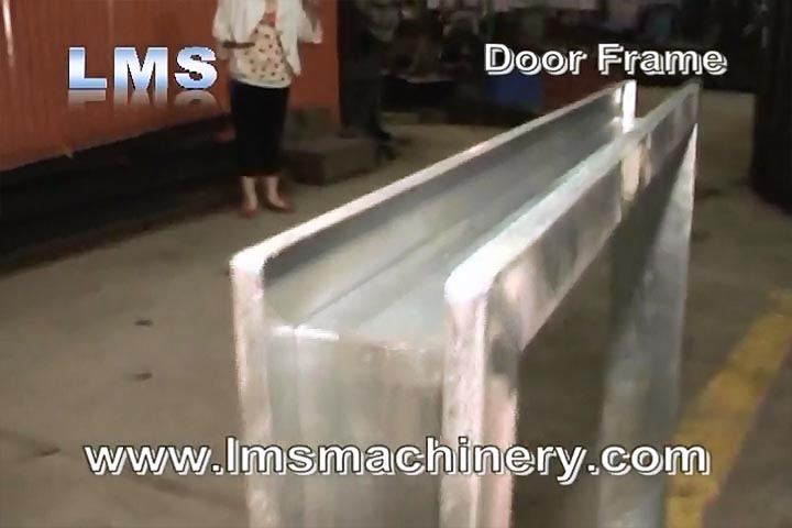 LMS DOOR FRAME ROLL FORMING -BEVEL CUTTING